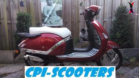 CPI Oliver City zilver snorscooter 2012 in nieuwstaat