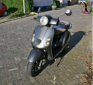 Baotian scooter.